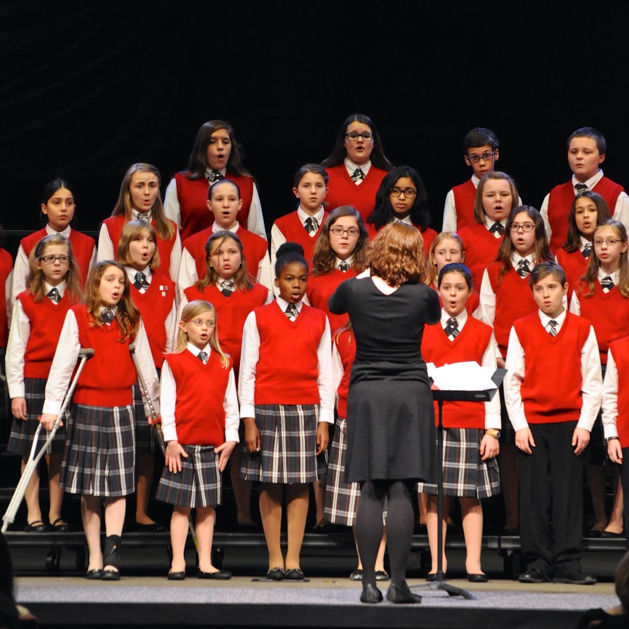 national childrens choir performance - HD1280×1280