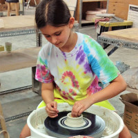 Pottery Wheel for Kids at The Art Workshop
