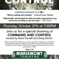 Command and Control at Mariemont Theatre