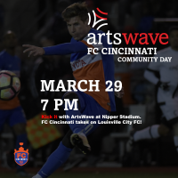 ArtsWave Community Day - FC Cincinnati