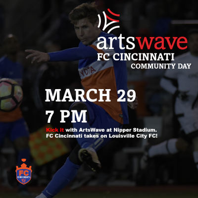 ArtsWave Community Day - FC Cincinnati