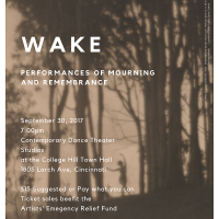 WAKE: performances of mourning and remembrance