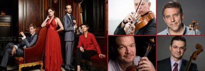 Ariel IV + CSO Principals = Mendelssohn Octet
