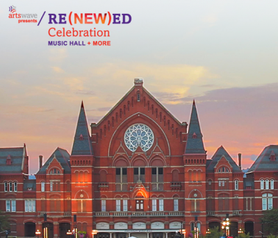 RE(NEW)ED Celebration: Performances and Events at Music Hall