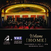 CCO + VAE: Welcome Home