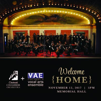 CCO + VAE: Welcome Home