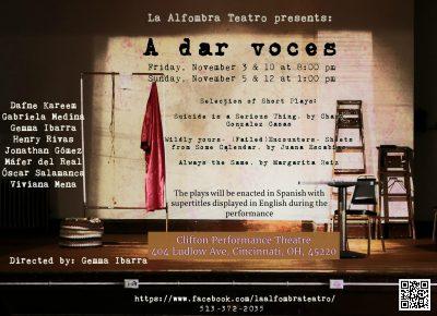 Spanish Theatre: A dar voces