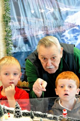 Holiday Toy Trains & Wahoo's Winter Wonderland