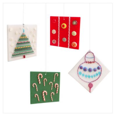 Torch to Kiln: Glass Ornaments!