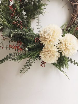 Winter Wreath Making Workshop with Eve Floral Co.