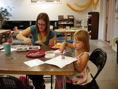 Winter Family Art Open Studio