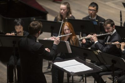 CCM Wind Ensemble: War and Peace