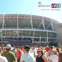 ArtsWave Days: Cincinnati Reds Kids Opening Day at The Banks