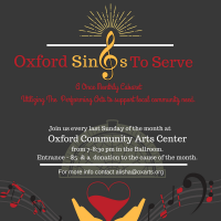 Oxford Sings to Serve