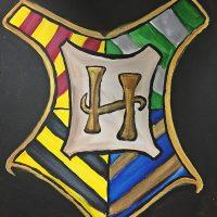 Colors & Cupcakes - Hogwarts Crest