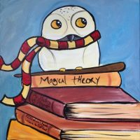 Colors & Cupcakes - Harry Potter - Hedwig