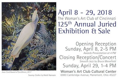 Woman's Art Club of Cincinnati 125th Annual Juried...