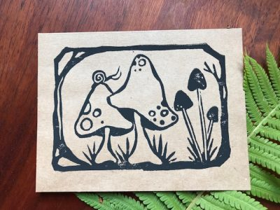 Nature Block Printing for Beginners with Elizabeth...