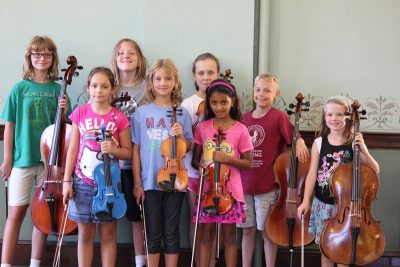 String Fling Orchestra Camp