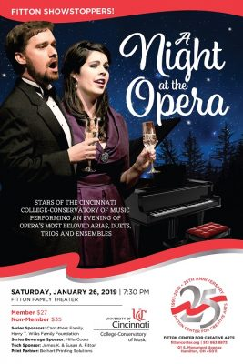 Fitton Showstoppers: A Night at the Opera with Stars from the Cincinnati College-Conservatory of Mus
