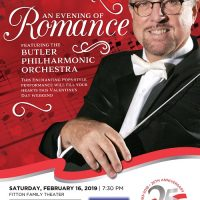 Fitton Showstoppers: An Evening of Romance Featuring the Butler Philharmonic Orchestra
