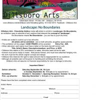 Landscape - No Boundaries - Call for entries