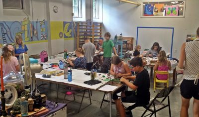 Middle School Fall Art Classes