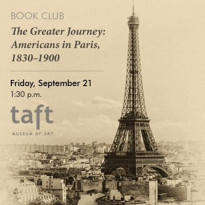Book Club | The Greater Journey: Americans in Pari...