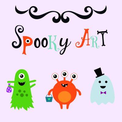 Taft Jr   Spooky Art