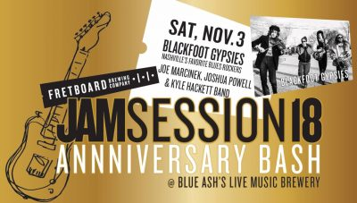 Jam Session 18 Anniversary Bash