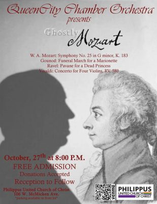 """Queen City Chamber Orchestra """"Ghostly Mozart"""""""