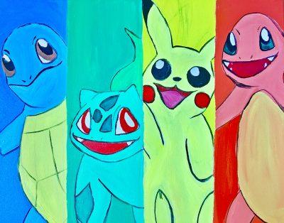 Colors & Cupcakes - Pokemon
