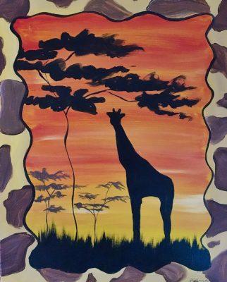 Colors & Cupcakes - Giraffe