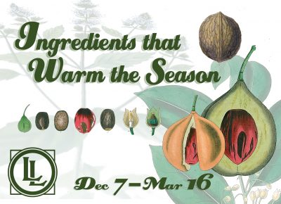 Ingredients that Warm the Season Opening Reception...