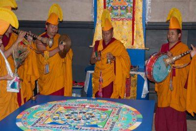 Tibetan Monks to Create Sacred Sand Art