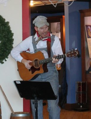 Jake Speed Concert at Behringer-Crawford Museum