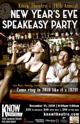 10th Annual New Year's Eve Speakeasy Party!