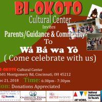 Wá Bá wa Yò ( Come celebrate with us)