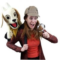 Memorial Hall presents Madcap Puppets' The Case of the Kidnapped Backpack