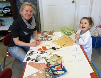 Winter Family Art Open Studio