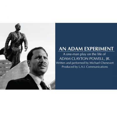 An Adam Experiment: A One-Man Play On The Life Of ...