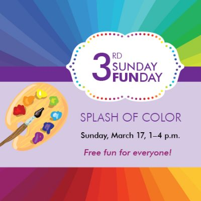 3rd Sunday Funday: Splash of Color