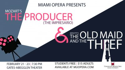 Miami Opera Presents Mozart's The Producer & M...
