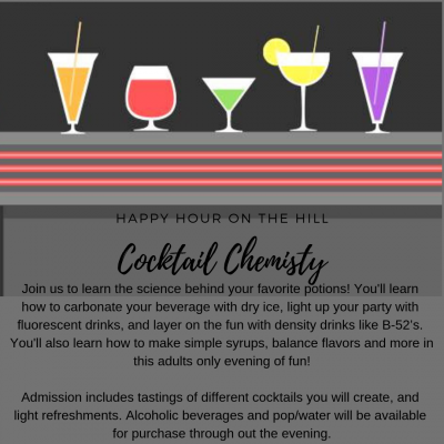 Happy Hour on the Hill - Cocktail Chemistry