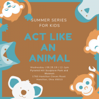 Summer Series For Kids - Act Like An Animal