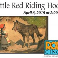 ROKCincy: Little Red Riding Hood