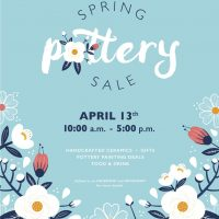 Spring Pottery Sale at Queen City Clay