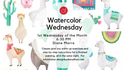 Watercolor Wednesdays!
