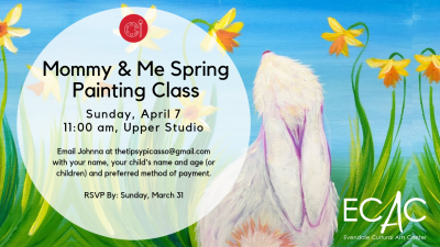 Mommy & Me Spring Painitng Party