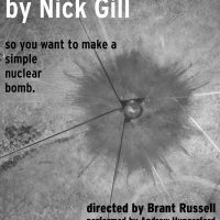 Sand by Nick Gill - a US Premiere